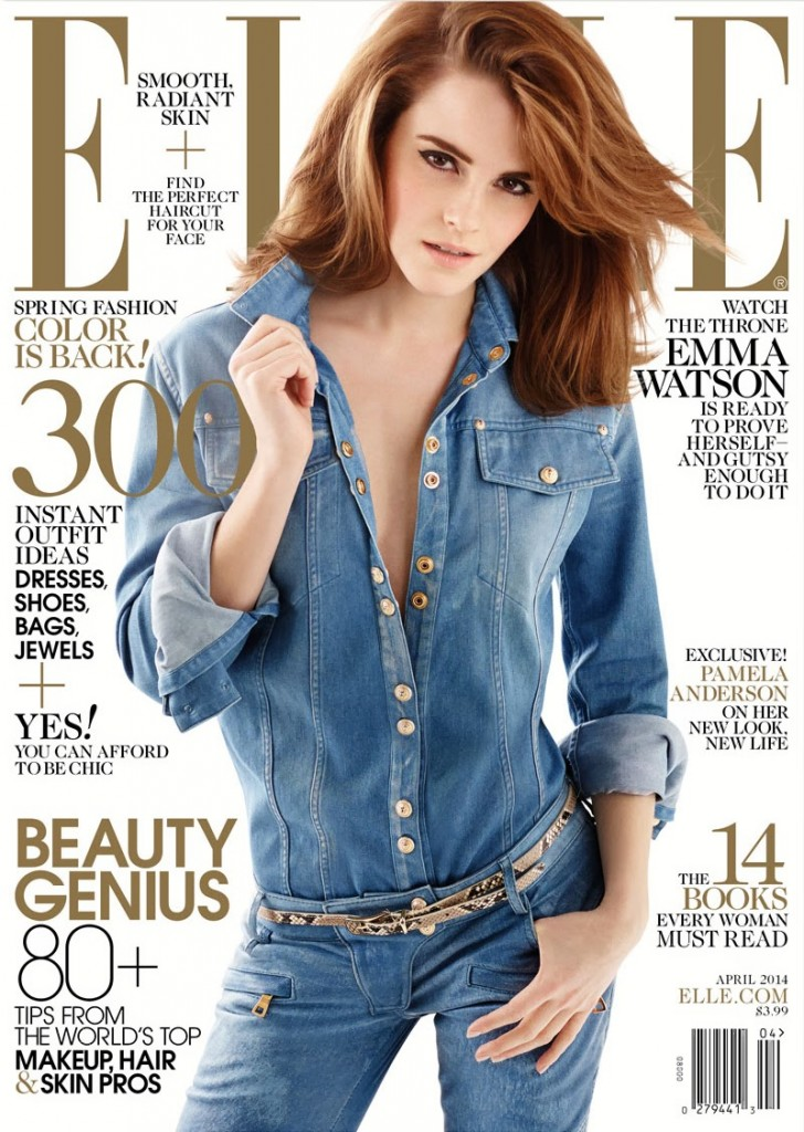Elle Magazine cover #2 April 2014