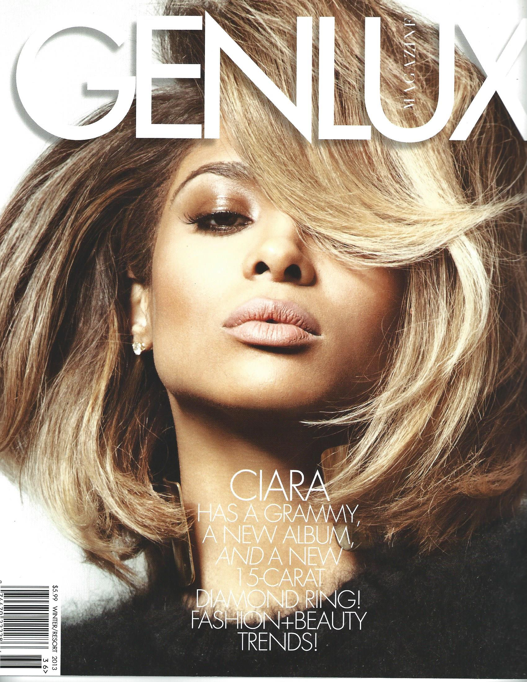 Genlux Magazine Winter-Resort 2013 Cover